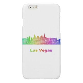 Rainbow Las Vegas skyline