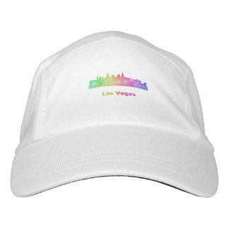 Rainbow Las Vegas skyline Headsweats Hat