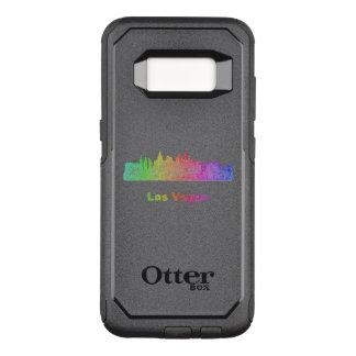 Rainbow Las Vegas skyline OtterBox Commuter Samsung Galaxy S8 Case