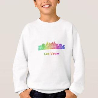 Rainbow Las Vegas skyline Sweatshirt