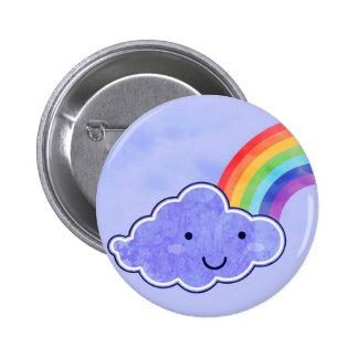 Rainbow left side 2 inch round button