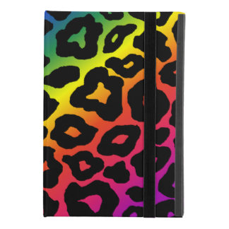 Rainbow Leopard Print iPad Mini 4 Case