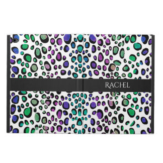 Rainbow Leopard Print Powis iPad Air 2 Case