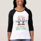 Rainbow Lesbian Wedding T-shirt