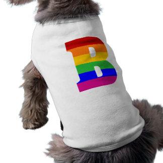 Rainbow Letter B Shirt
