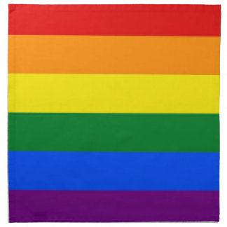 Rainbow LGBT Flag on MoJo Napkin
