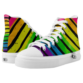Rainbow LGBT Pride High Tops