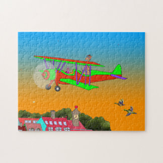 Rainbow & Lila Flying Jigsaw Puzzle