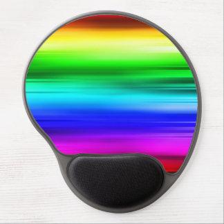 Rainbow lines mousepad gel mouse pad