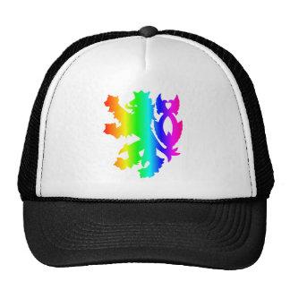 Rainbow Lion #4 Trucker Hat