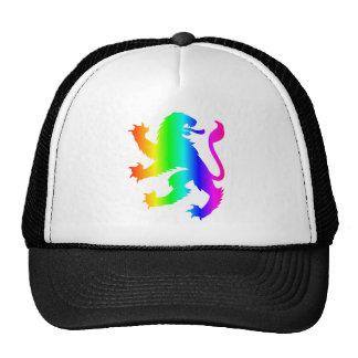 Rainbow Lion Trucker Hat