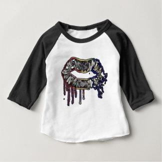 Rainbow lips design baby T-Shirt