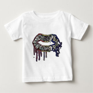Rainbow lips design baby T-Shirt