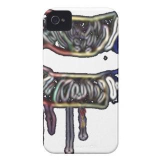 Rainbow lips design iPhone 4 Case-Mate case