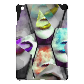 Rainbow Lips Vape iPad Mini Cases