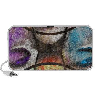 Rainbow Lips Vape Portable Speakers