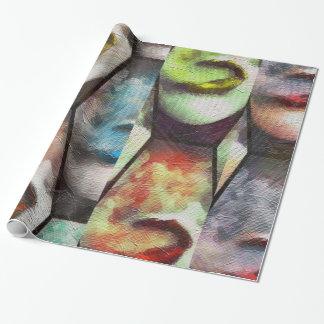 Rainbow Lips Vape Wrapping Paper