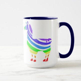 Rainbow Llama Mug