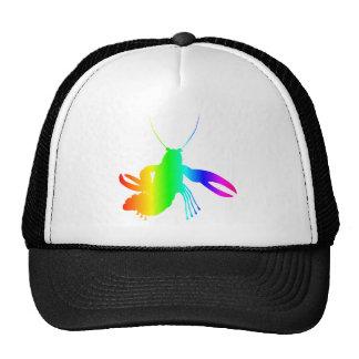 Rainbow Lobster Trucker Hat