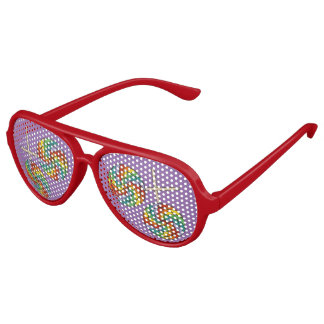 Rainbow Lollipop Candy Birthday Pride Party Shades