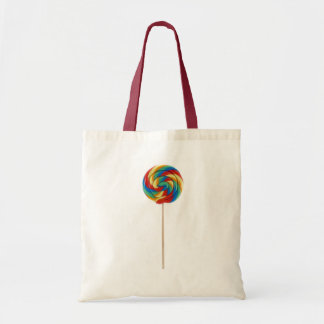 rainbow lollipop on a stick bag