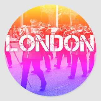 rainbow london sticker