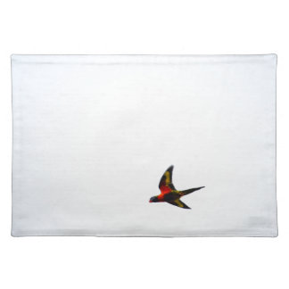 RAINBOW LORIKEET AUSTRALIA ART EFFECTS PLACEMAT