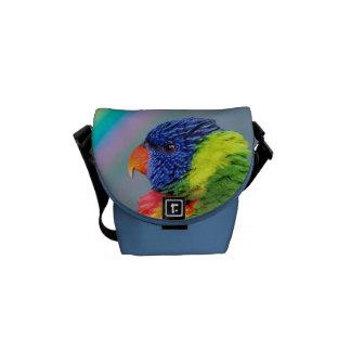 Rainbow Lorikeet Courier Bag