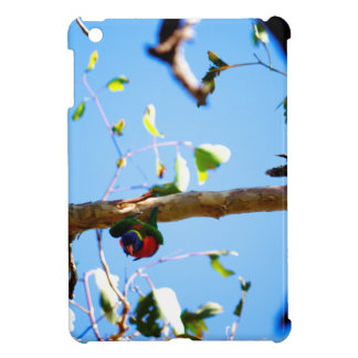 RAINBOW LORIKEET IN FLIGHT QUEENSLAND AUSTRALIA iPad MINI COVER