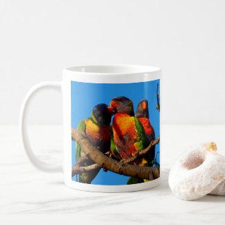Rainbow Lorikeet photo coffee mug