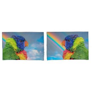 Rainbow Lorikeet Pillowcase