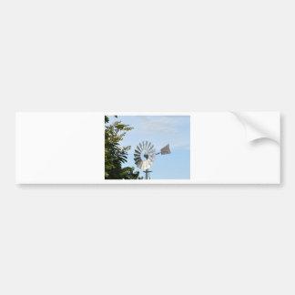 RAINBOW LORIKEET & WINDMILL QUEENSLAND AUSTRALIA BUMPER STICKER