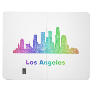 Rainbow Los Angeles skyline Journals