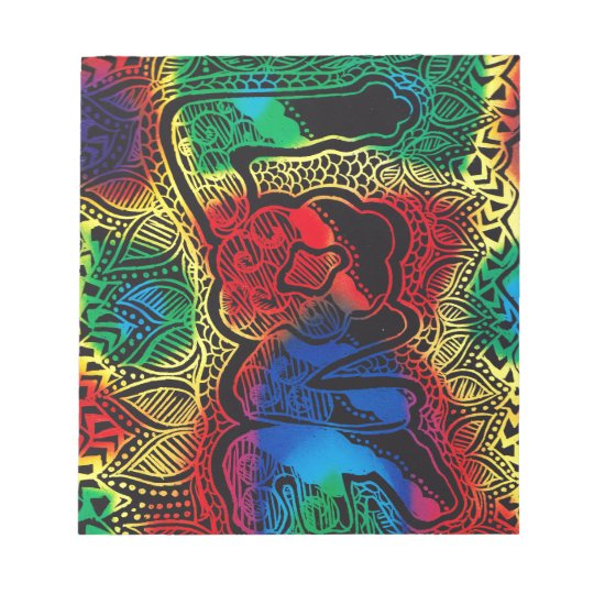 Rainbow love Notepad