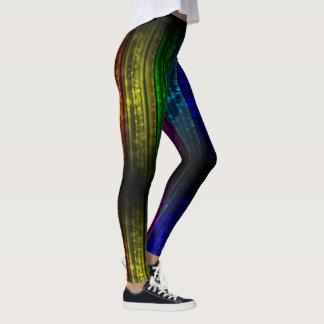 Rainbow Love - power Yoga put-went Leggings