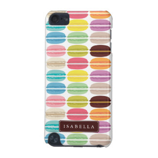 Rainbow Macarons Personalized iPod Touch 5G Covers