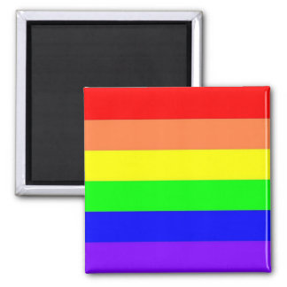 Rainbow Magnent Square Magnet