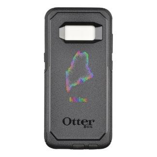 Rainbow Maine map OtterBox Commuter Samsung Galaxy S8 Case