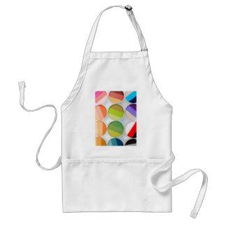 Rainbow Makeup Palette - Beauty Print Standard Apron