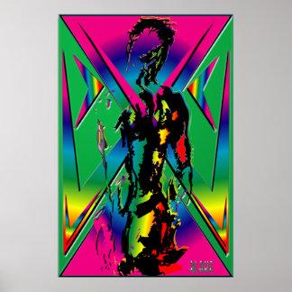 Rainbow Male Art Print
