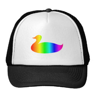Rainbow Mallard Trucker Hat