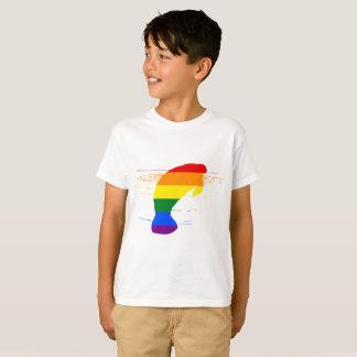 Rainbow Manatee T-Shirt
