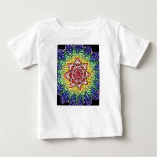 Rainbow Mandala Baby T-Shirt