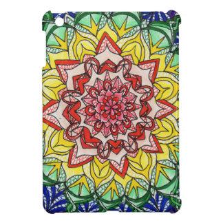 Rainbow Mandala Cover For The iPad Mini
