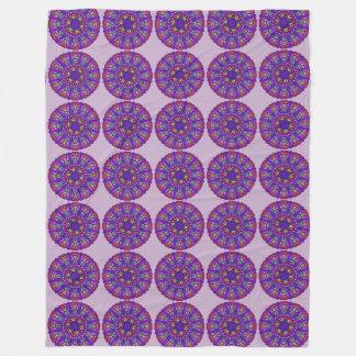 Rainbow Mandala Custom Fleece Blanket