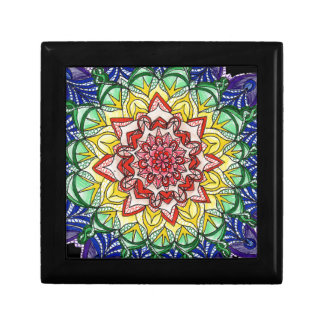 Rainbow Mandala Gift Box