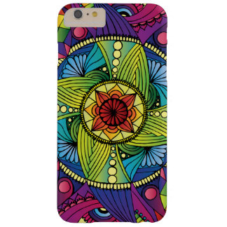 Rainbow Mandala iPhone case (Black)