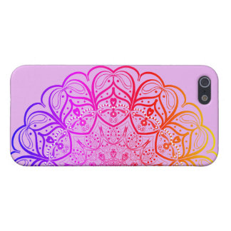 Rainbow Mandala iPhone Case iPhone 5 Cases