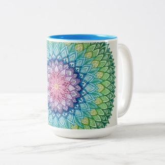 Rainbow Mandala Mug (Jumbo)