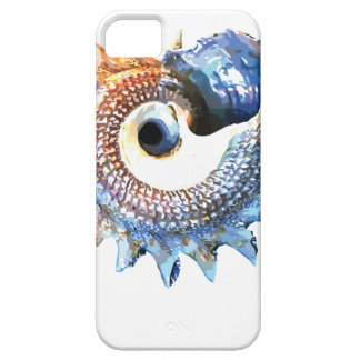 Rainbow Mandala Seashell Golden Spiral Yoga Tee iPhone 5 Cases
